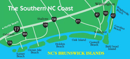Wrightsville Beach Map