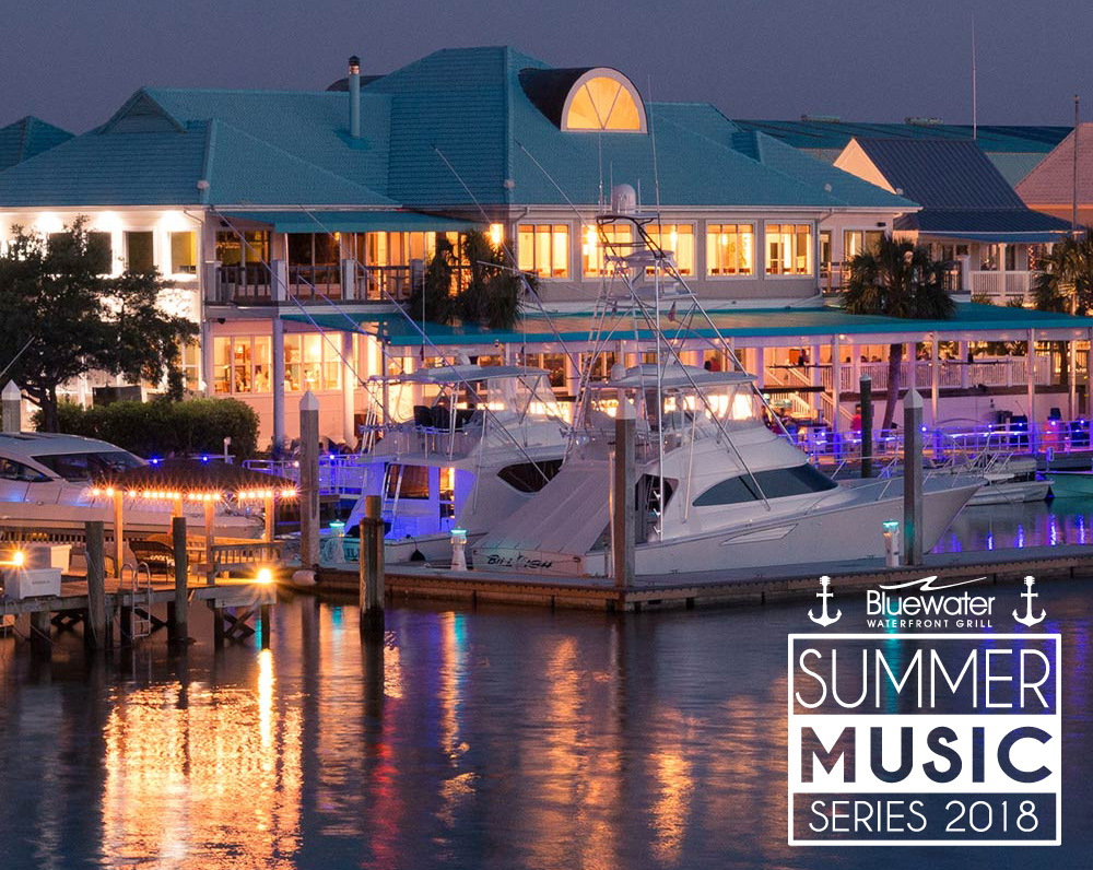 At Bluewater Waterfront Grille Wrightsville Beach We Re Bringing You The Sounds Of Summer With Live Music On Patio Every Sunday From 4 Pm To 8
